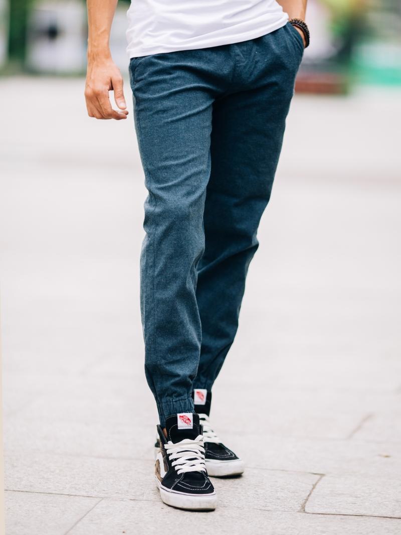 Quần jogger kaki xanh rêu j05 - 2