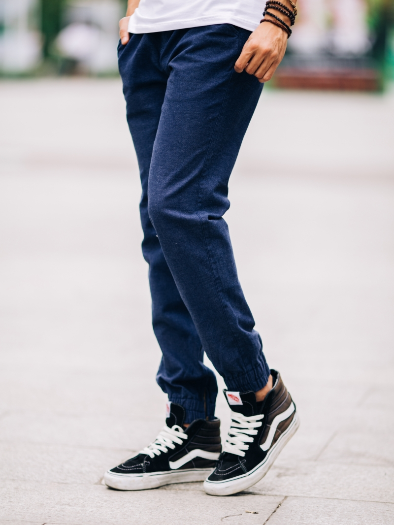 Quần jogger kaki xanh đen j05 - 2