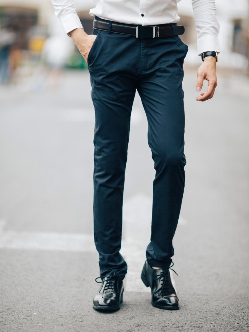 Tư vấn chọn giày nam hợp với quần kaki và áo sơ mi nam - 177529