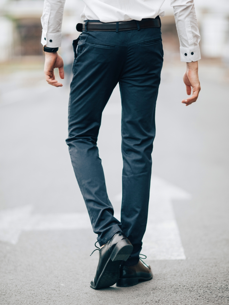 Quần kaki xanh đen qk161 - 2