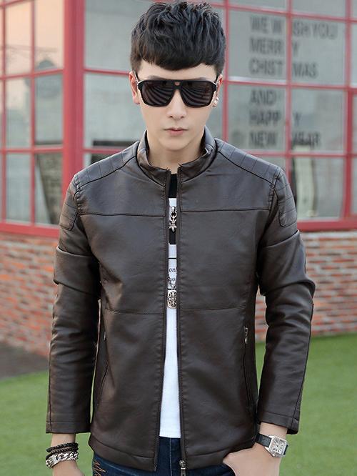 Tư vấn chọn mua áo khoác da mùa thu đông cho nam