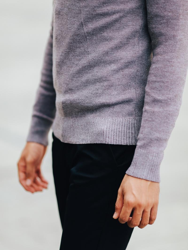 Áo len hồng al106 - 4