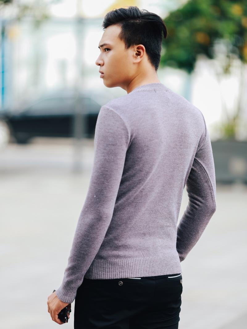 Áo len hồng al107 - 3