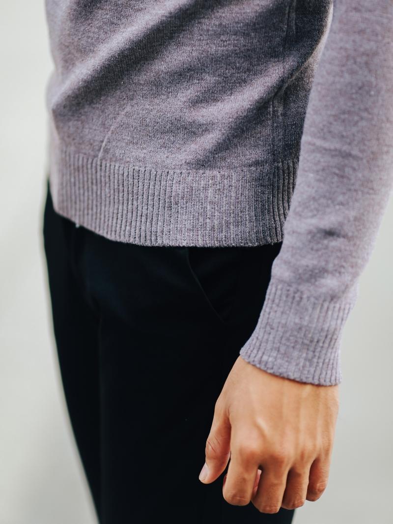 Áo len hồng al107 - 4