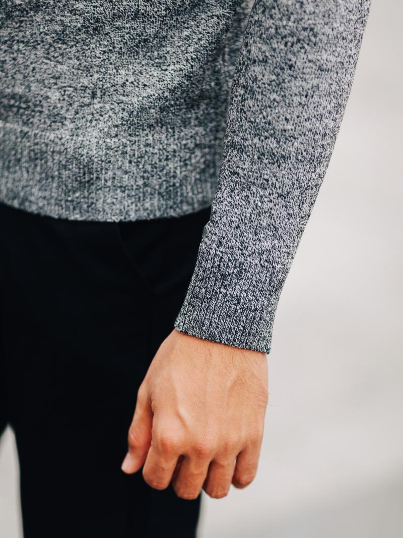 Áo len nâu đốm al107 - 4