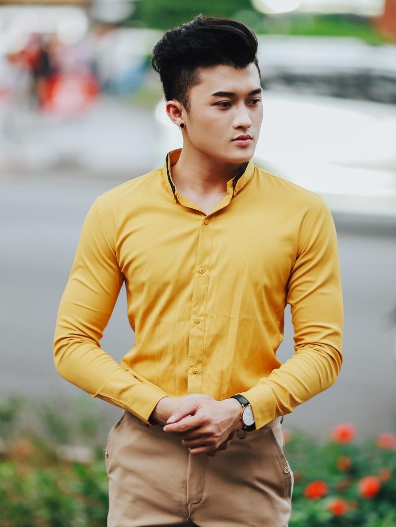 Ao So Mi Vang ASM861