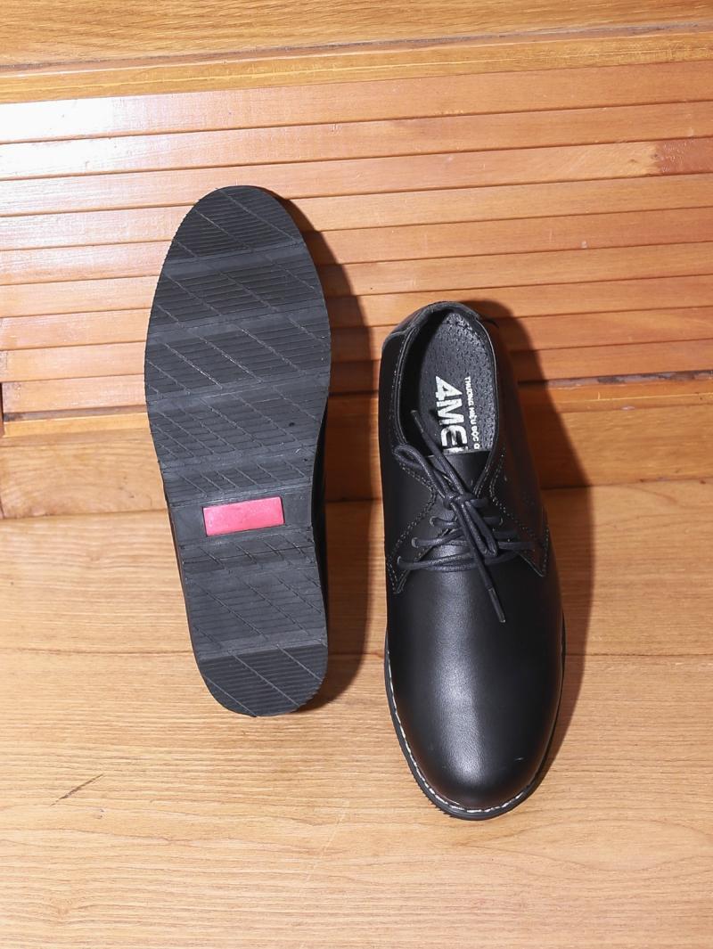 Giày boot tăng chiều cao đen g130 - 4