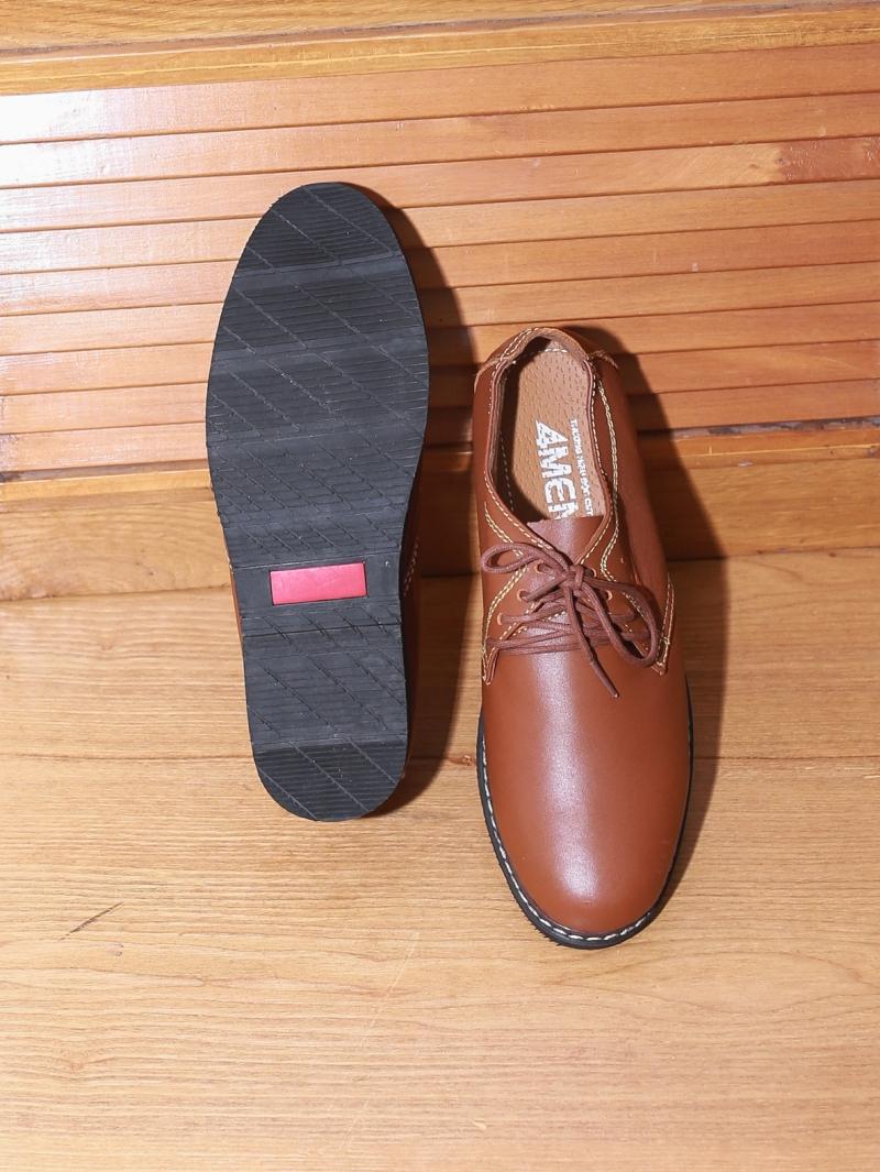 Giày boot tăng chiều cao màu bò g130 - 3