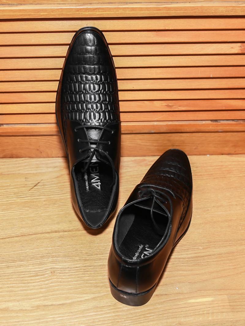 Giày tây đen g126 - 3