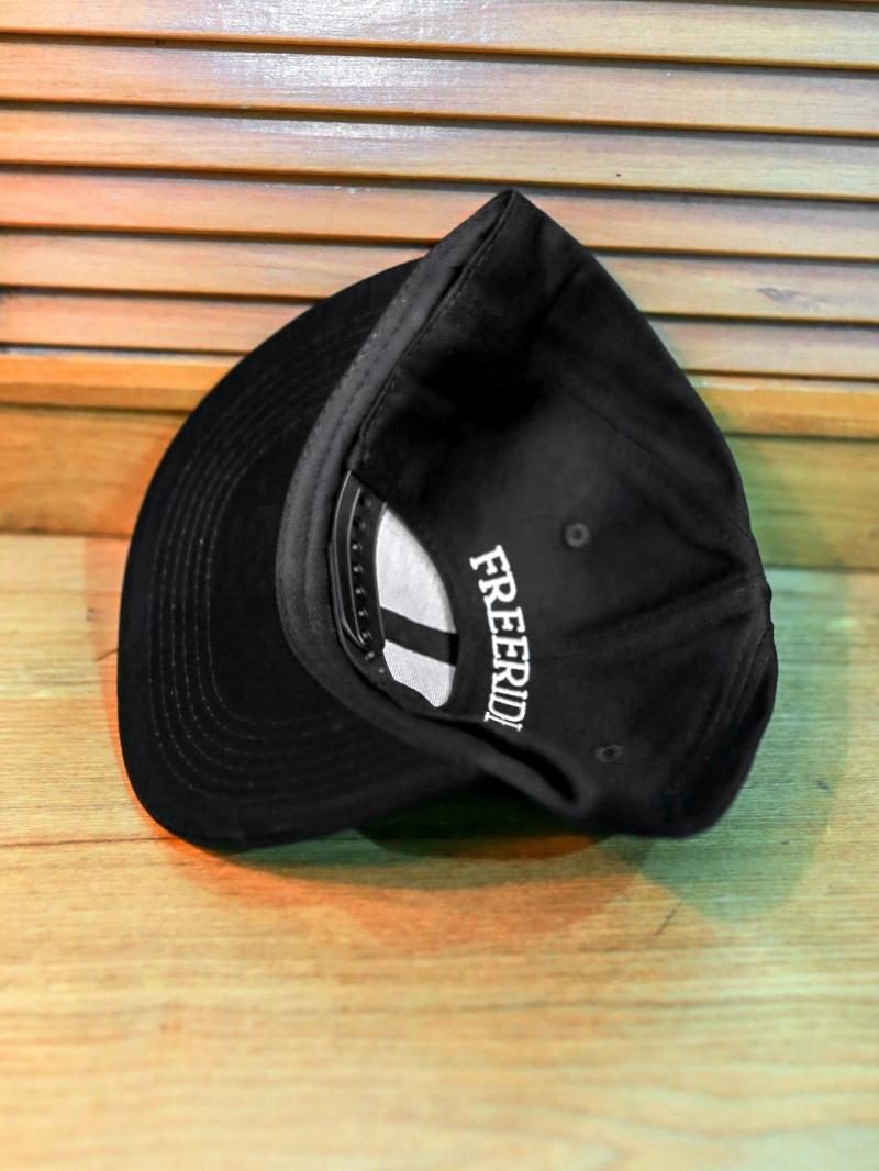 Nón snapback đen n358 - 2