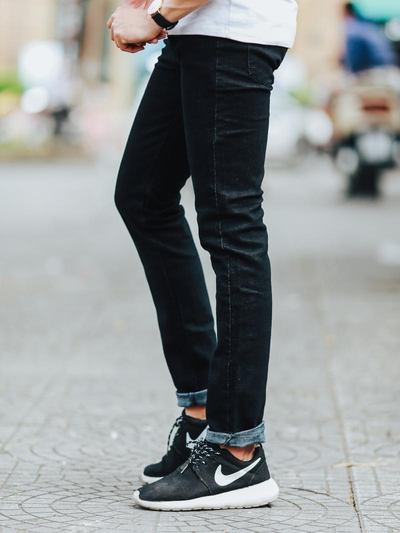 Quần jean đen qj1438 - 2