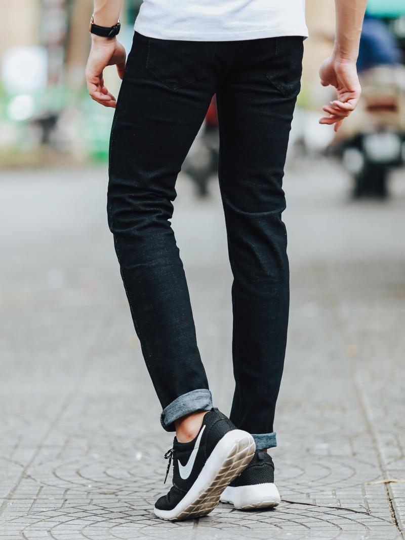 Quần jean đen qj1438 - 3