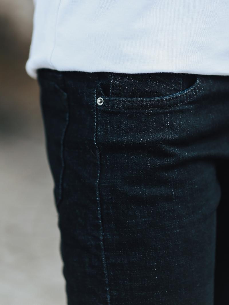 Quần jean đen qj1438 - 4