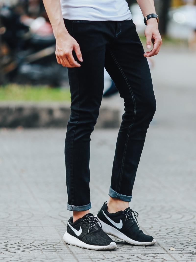 Quần jean đen qj1442 - 2