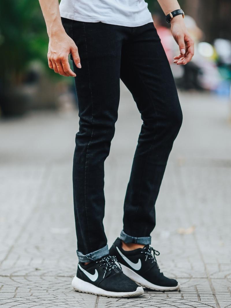 Quần jean đen qj1445 - 2