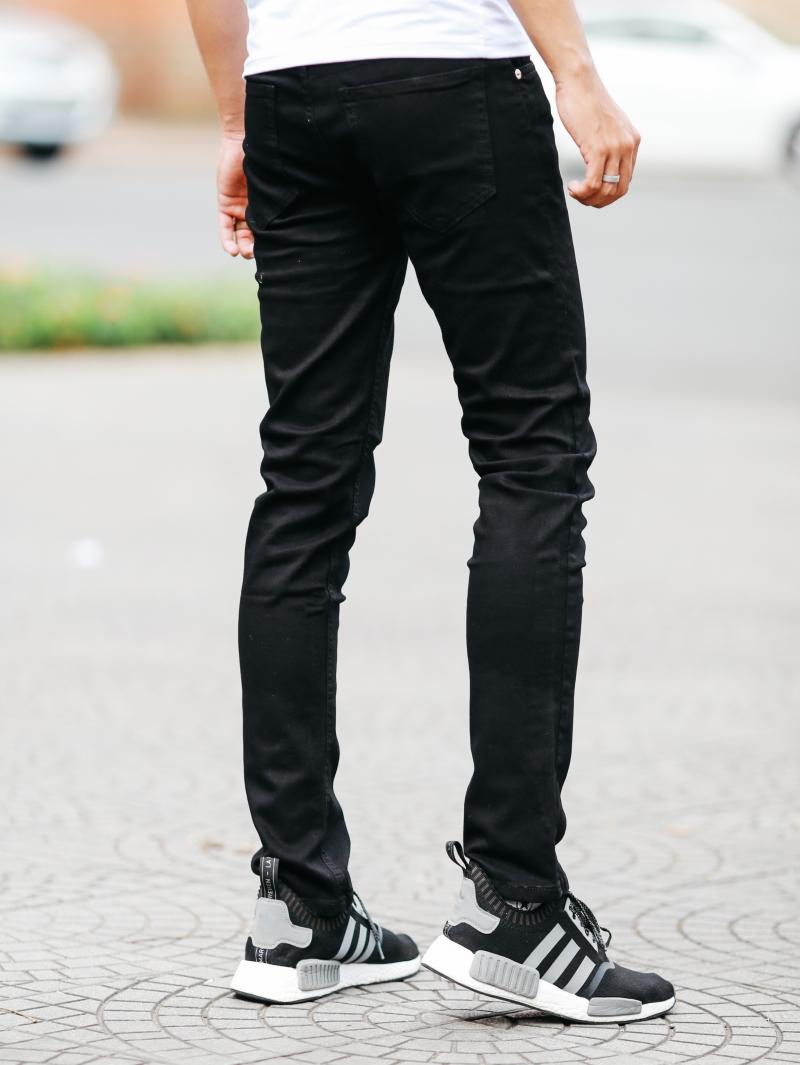 Quần jean đen qj1454 - 3