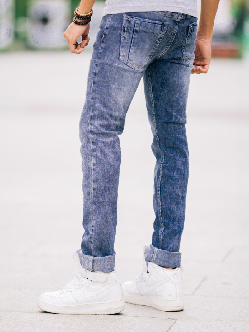 Quần jean skinny xanh qj1425 - 2