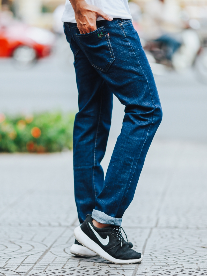 Quần jean xanh đen qj1432 - 2