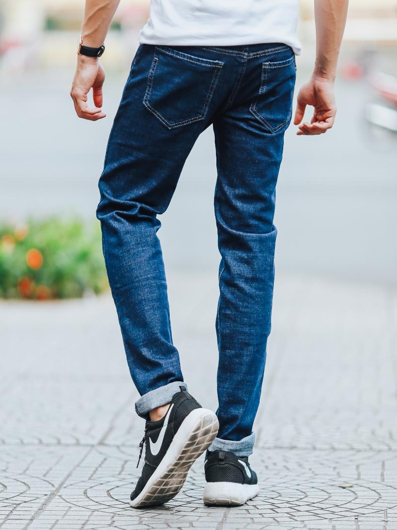 Quần jean xanh đen qj1432 - 3