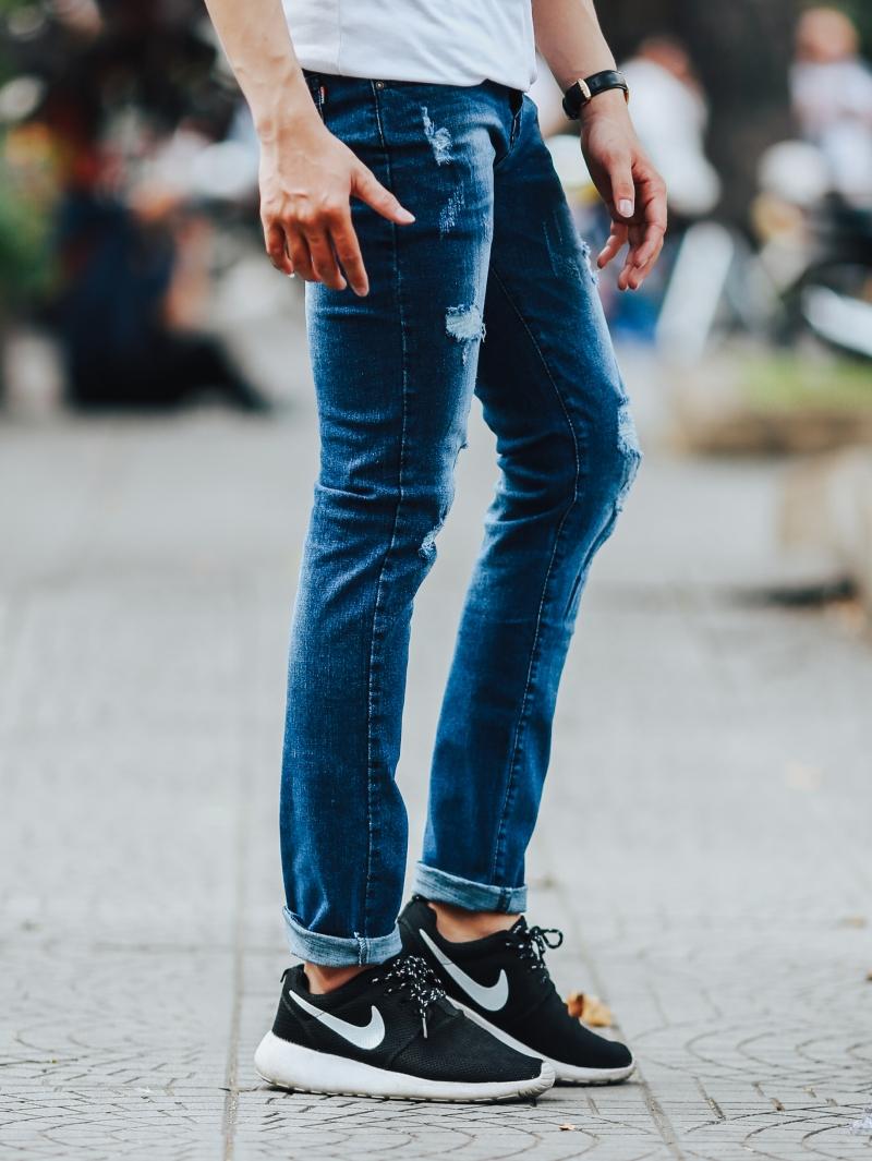 Quần jean xanh đen qj1433 - 3