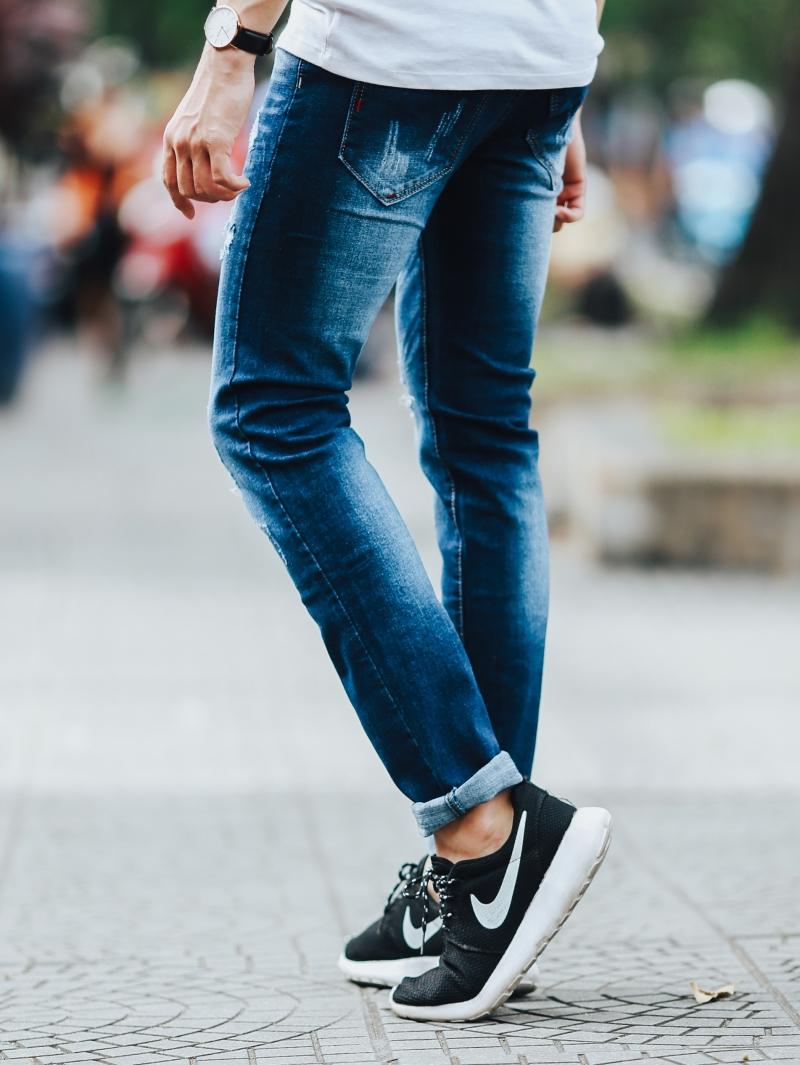 Quần jean xanh đen qj1434 - 3
