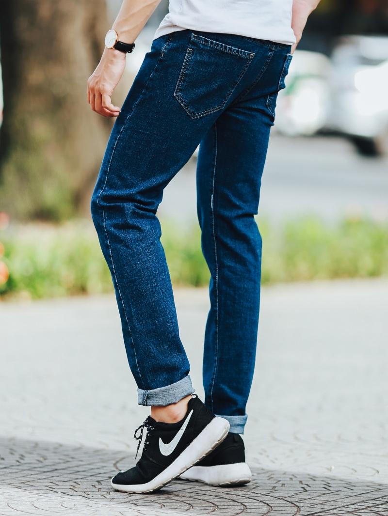 Quần jean xanh đen qj1436 - 3