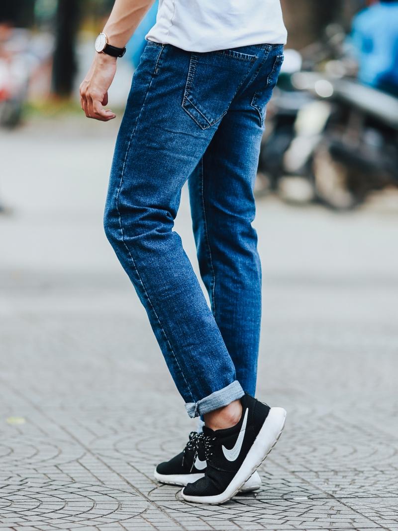 Quần jean xanh đen qj1437 - 2