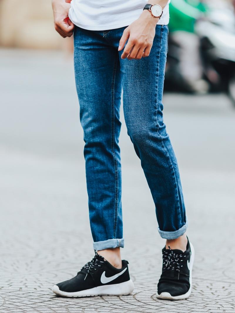 Quần jean xanh đen qj1441 - 2