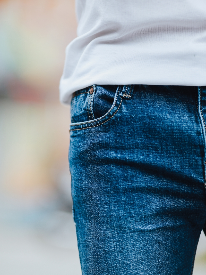 Quần jean xanh đen qj1441 - 4