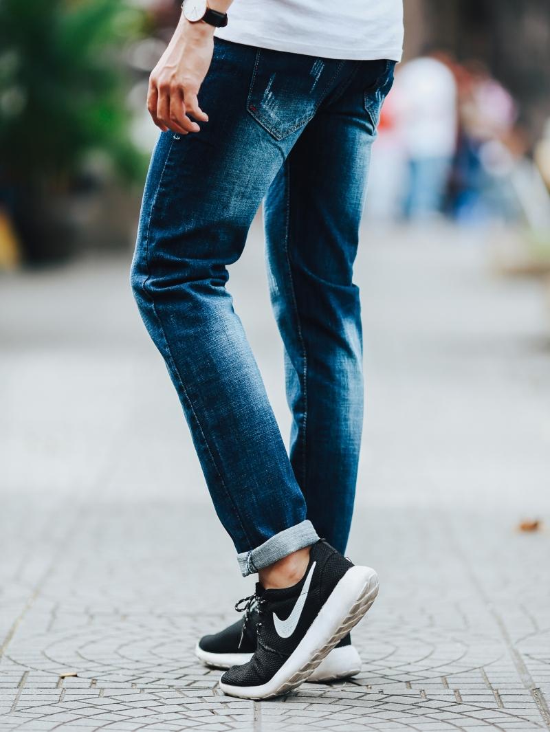 Quần jean xanh đen qj1448 - 2