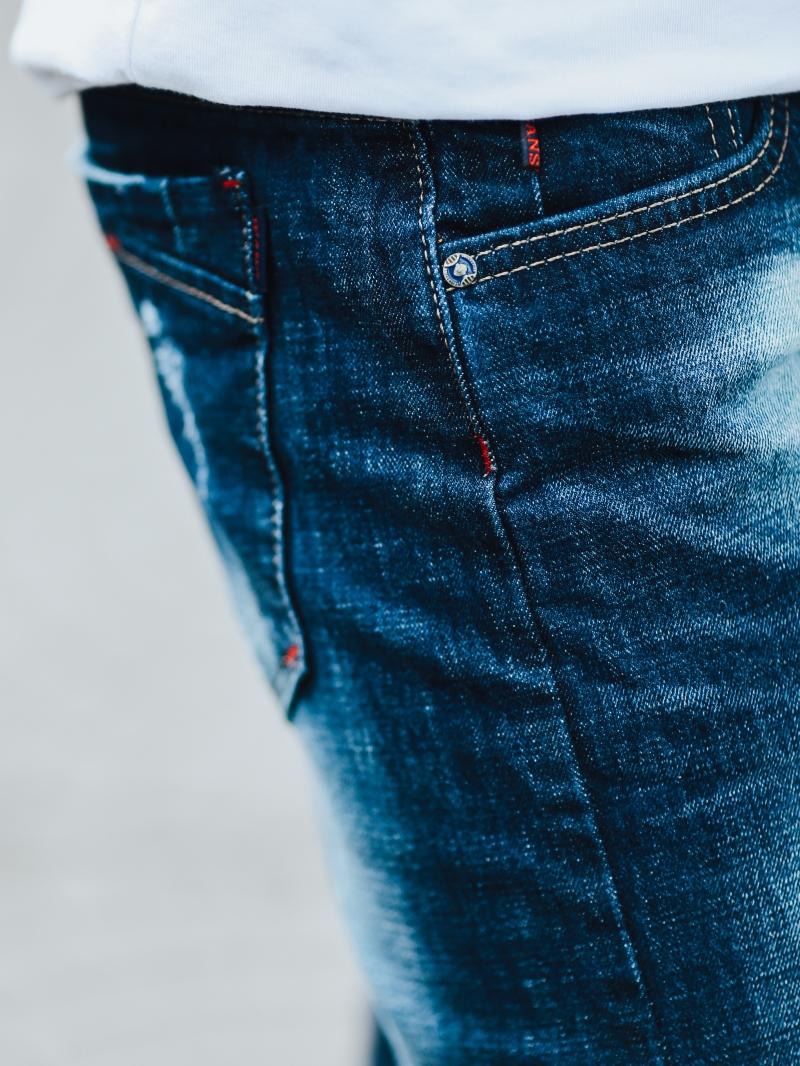 Quần jean xanh đen qj1448 - 4