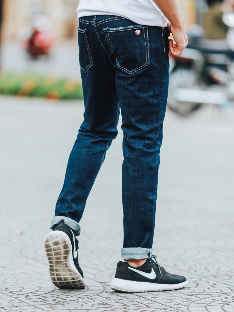 Quần jean xanh đen qj1451 - 2