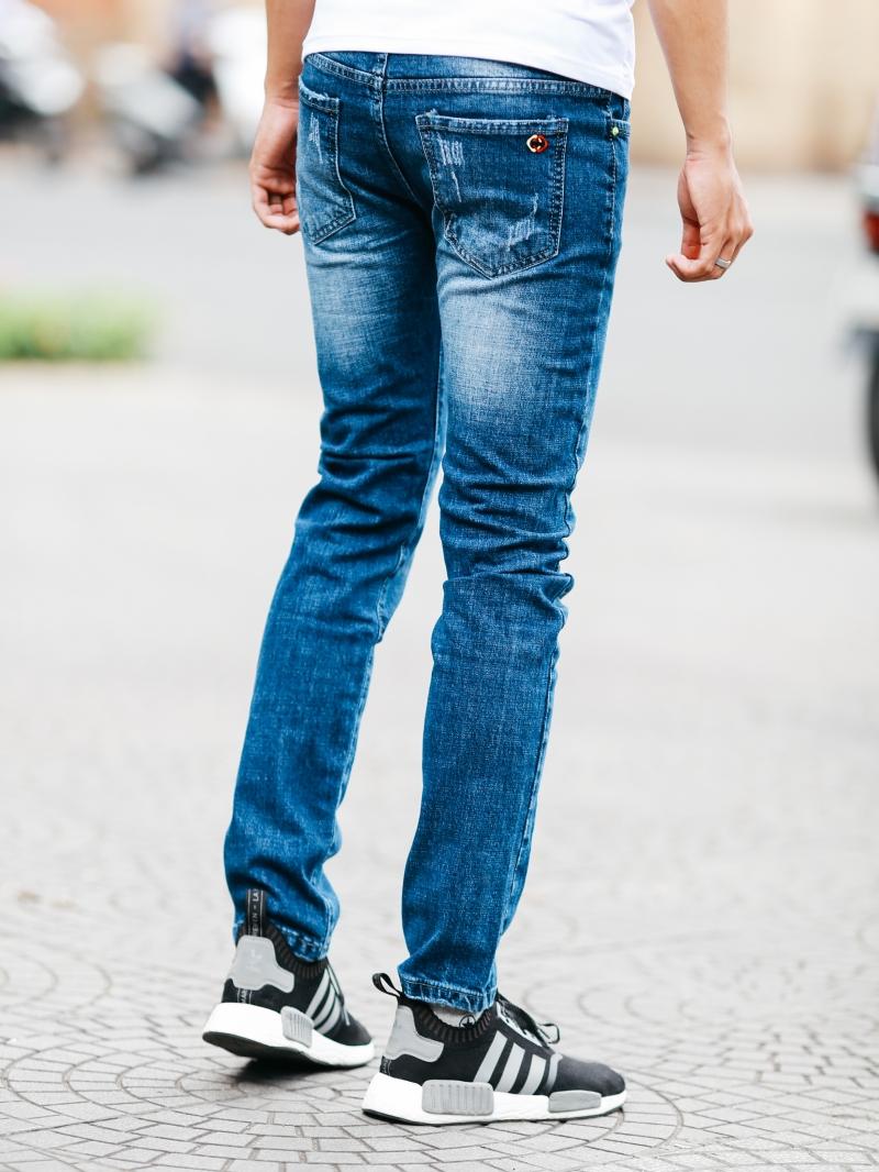 Quần jean xanh đen qj1459 - 2
