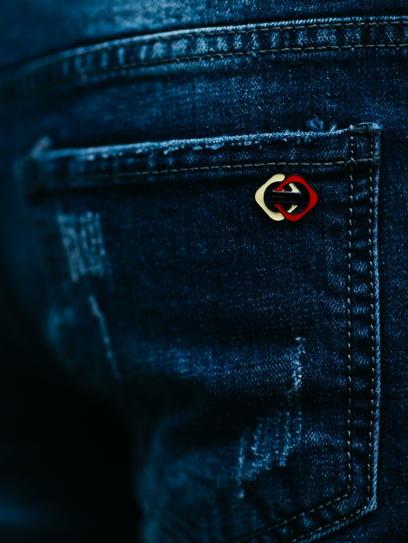 Quần jean xanh đen qj1459 - 4