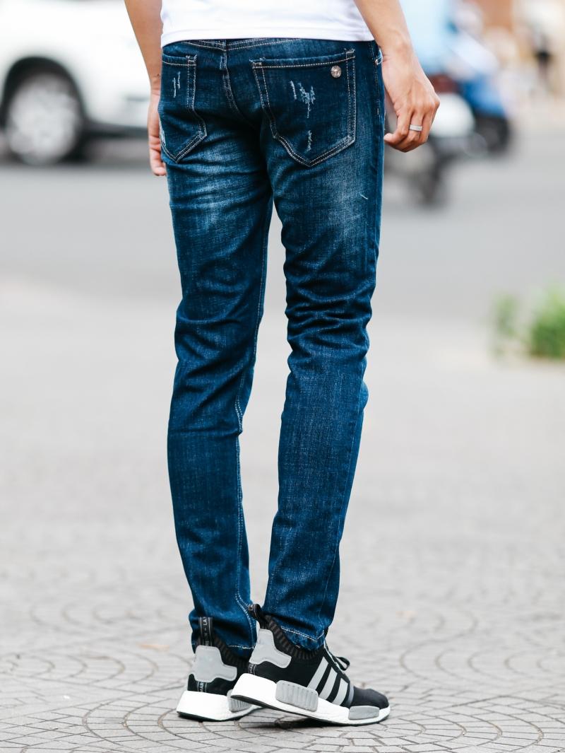 Quần jean xanh đen qj1472 - 3
