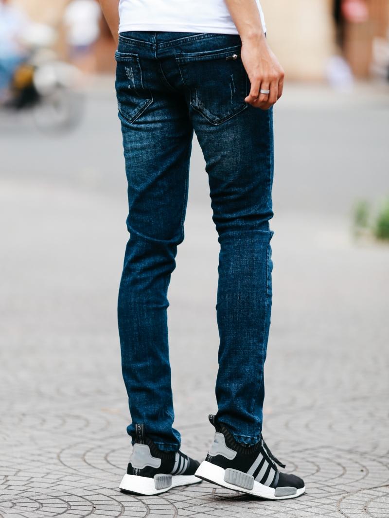 Quần jean xanh đen qj1473 - 3