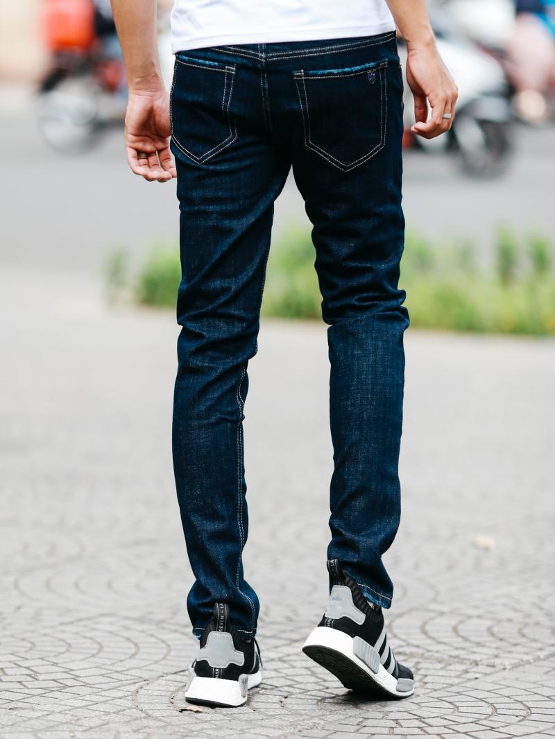 Quần jean xanh đen qj1474 - 3