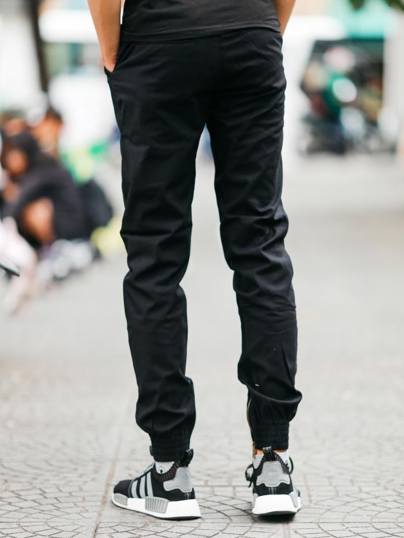 Quần jogger kaki đen j06 - 3