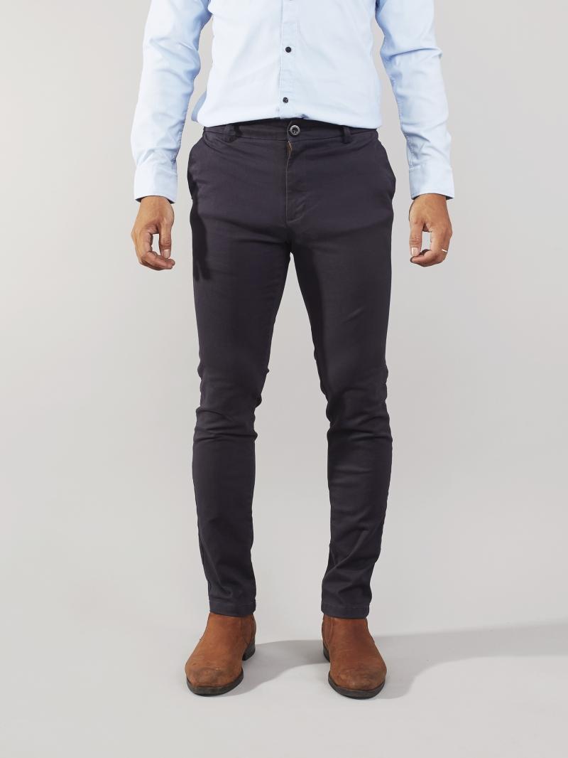 Quần kaki xanh đen qk162 - 2