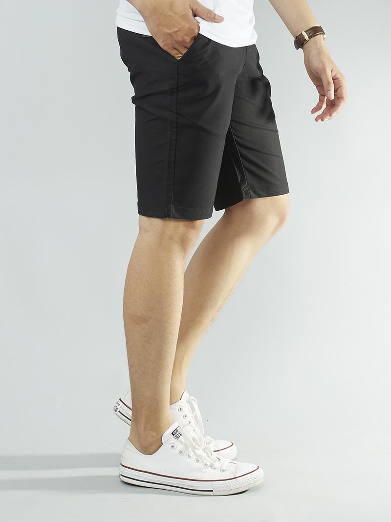 Quần short kaki đen qs94 - 2