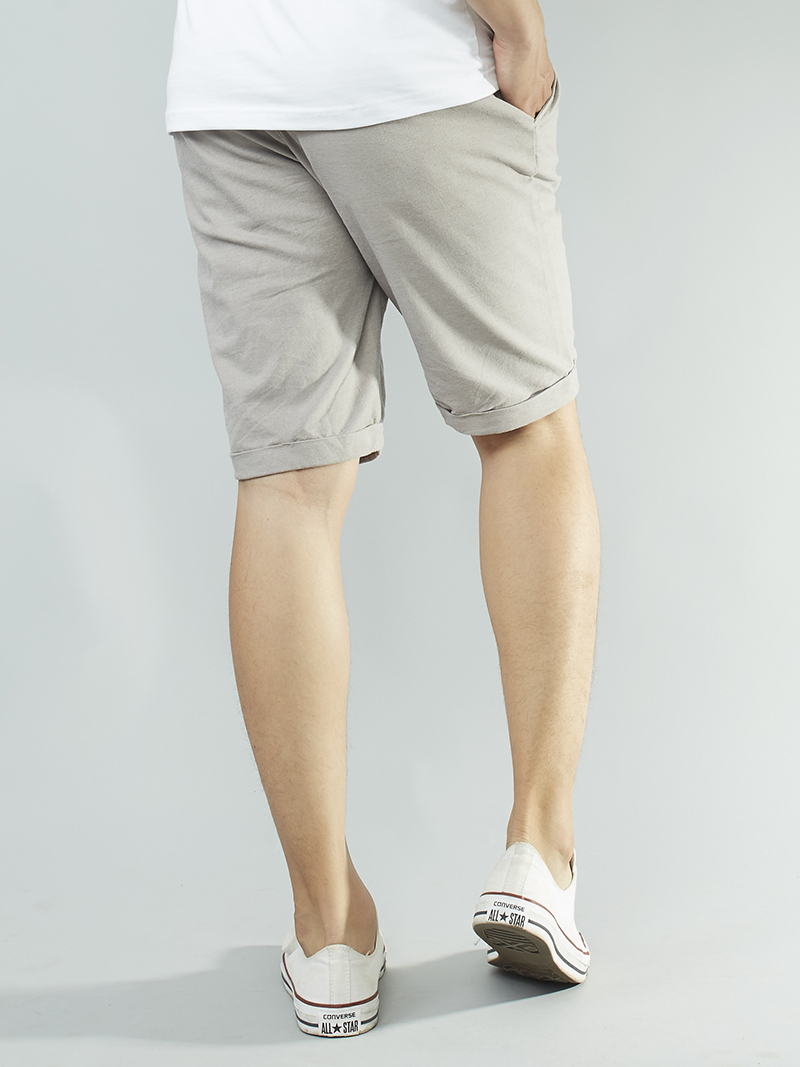 Quần short kaki xám qs101 - 2