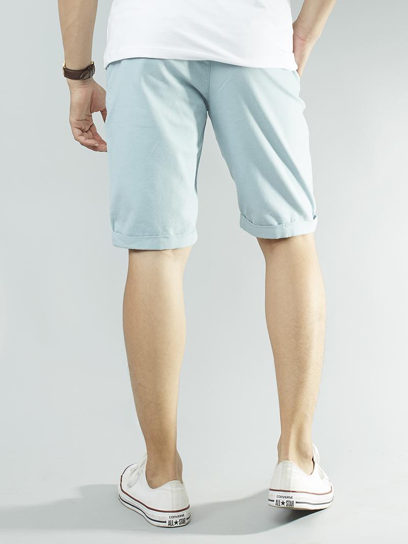 Quần short kaki xanh da trời qs101 - 3