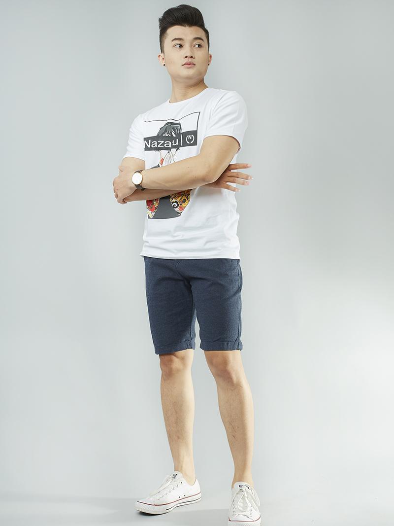 Quần short kaki xanh đen qs101 - 4