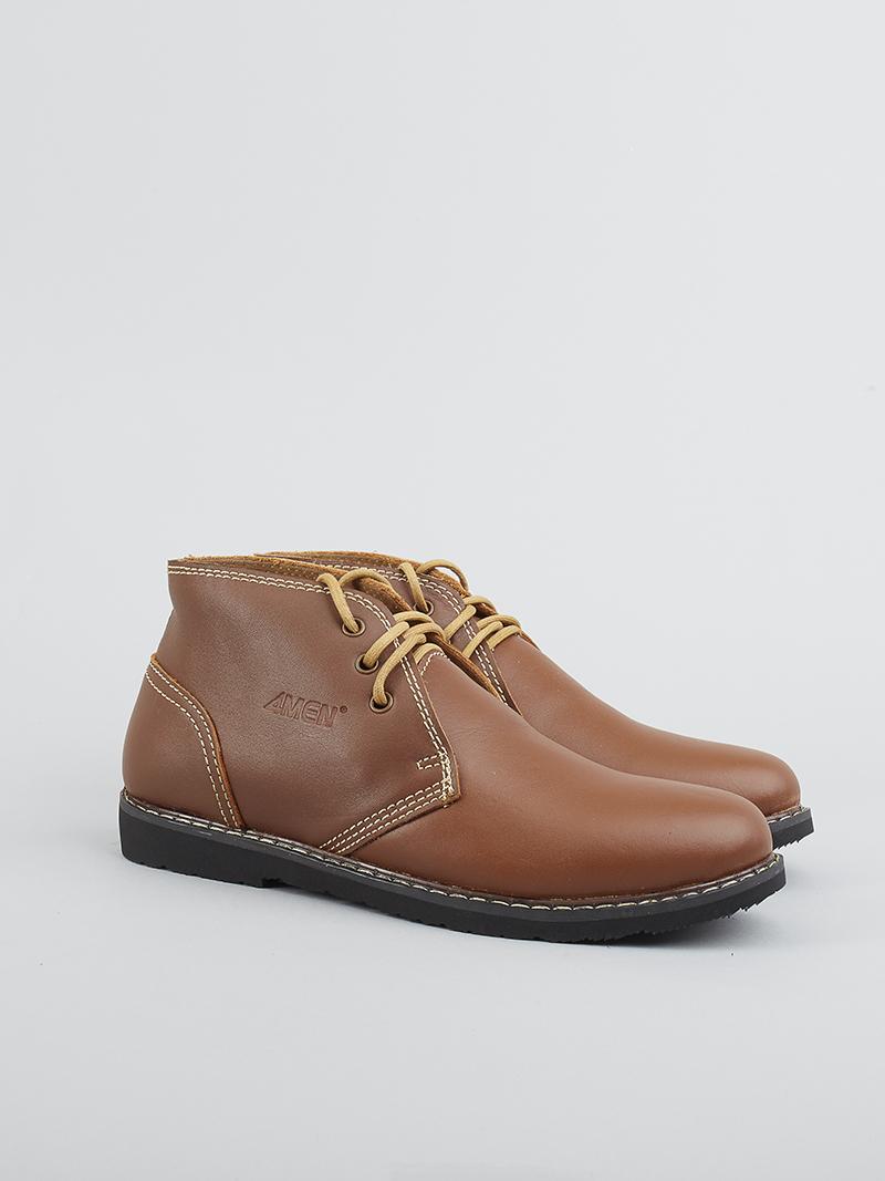 Giày boot tăng chiều cao bò g122 - 2