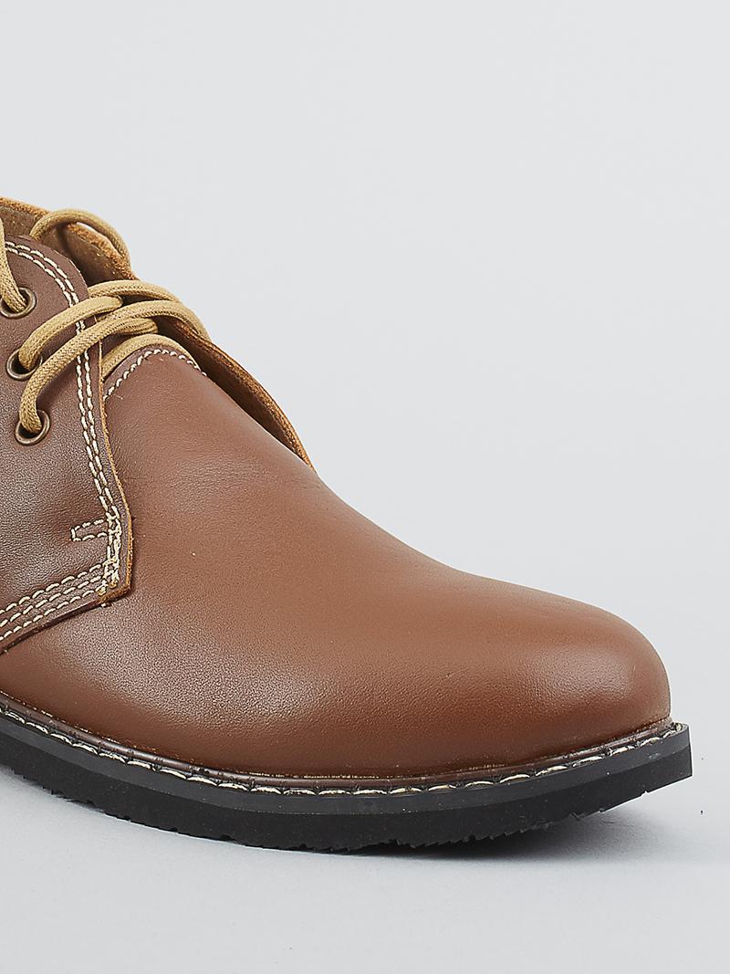 Giày boot tăng chiều cao bò g122 - 4