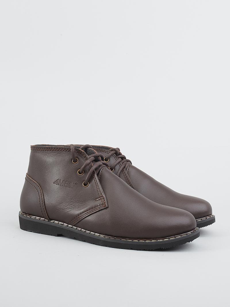 Giày boot tăng chiều cao nâu g122 - 2