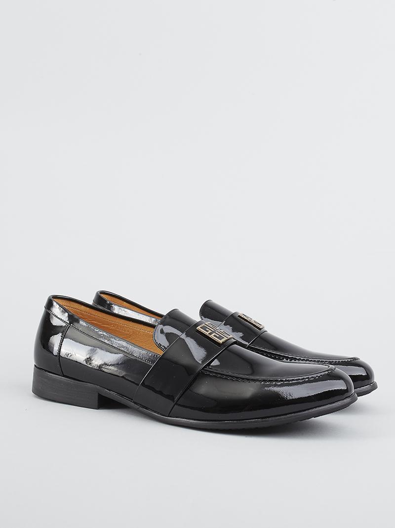 Giày tây da đen g82 - 2