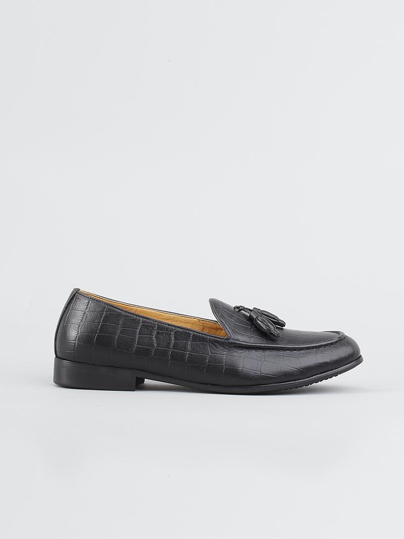 Giày tây đen g114 - 1