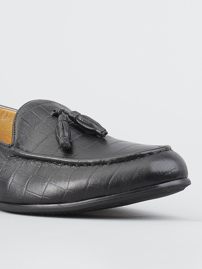 Giày tây đen g114 - 4