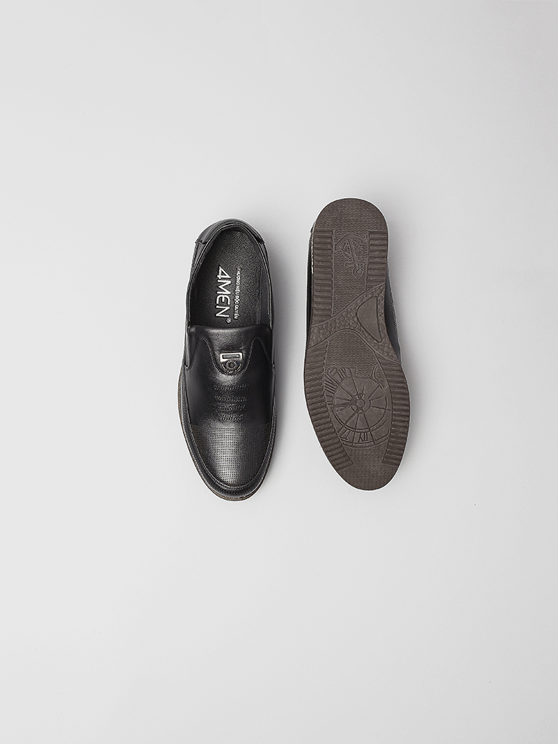 Giày mọi đen g115 - 4